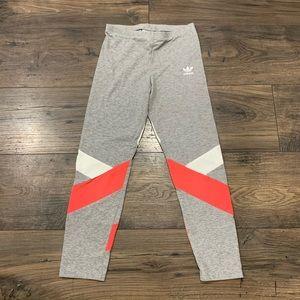 Adidas girls leggings EUC size small